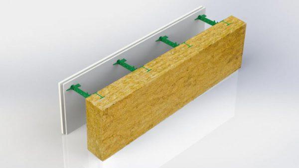 Комблок с минераловатной плитой 100