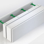 Блок несъемной комбинированной опалубки Комблок 250